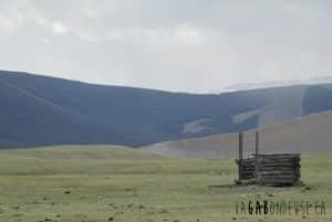 Aux toilettes chez les nomades