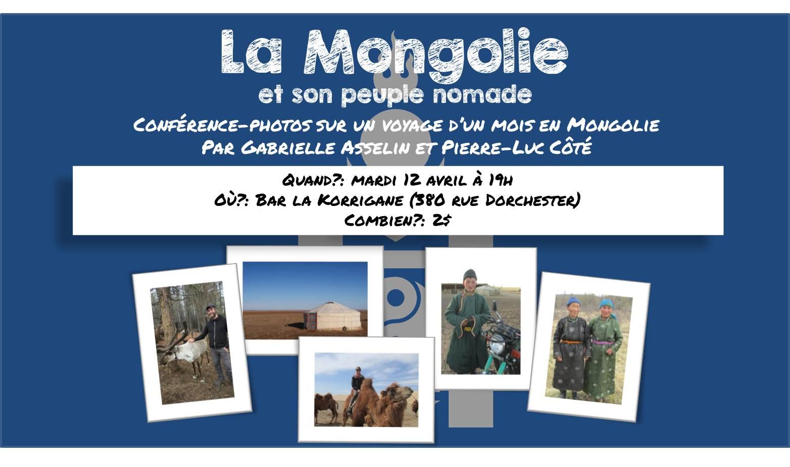 Affiche Mongolie