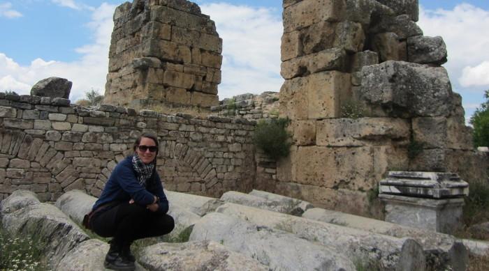 Mirka à Hierapolis en Turquie.