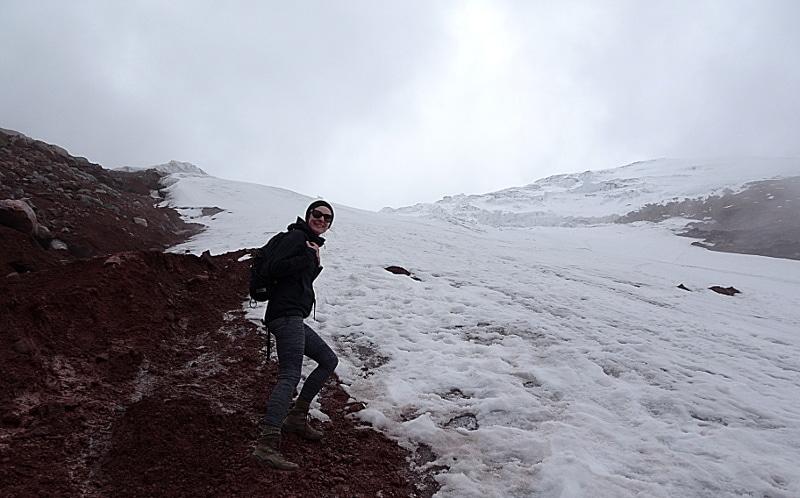 itinéraire en équateur glacier cotopaxi