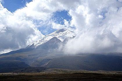 itinéraire en équateur volcan cotopaxi