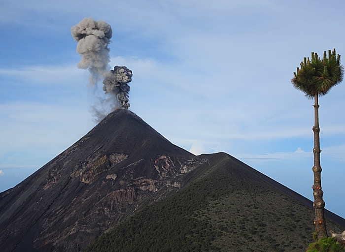 randonnée volcan acatenango