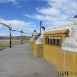 Stupa près du monastère
