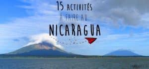 Quoi faire au Nicaragua : 15 suggestions d'activités