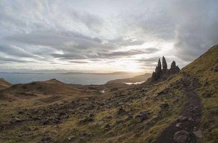 Destination coup de coeur le Old Man of storr La faute au graph