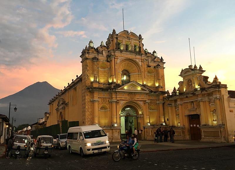 voyage au Guatemala itinéraire de 2 semaines Antigua