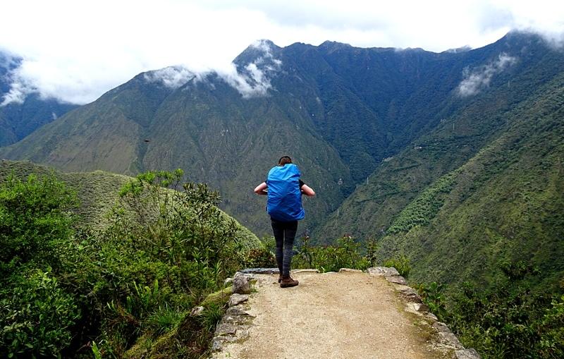 randonnée sur le chemin des incas Vagabondeuse