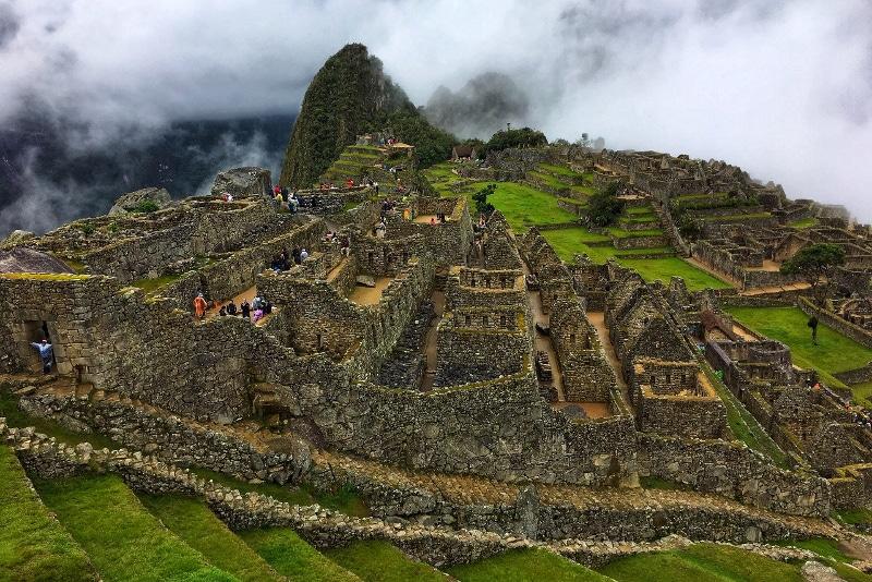 randonnée sur le chemin des incas machu picchu