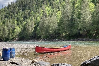 Canot camping riviere bonaventure gaspesie