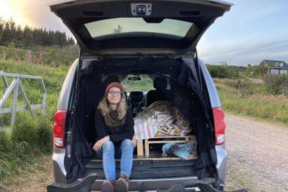 Amenager une Dodge Caravan en camper