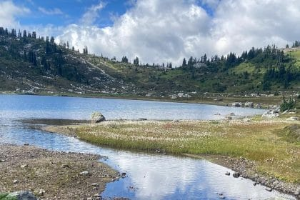 Randonnée rainbow lake BC